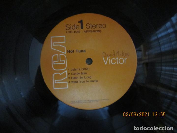 Discos de vinilo: HOT TUNA - HOT TUNA LP - ORIGINAL U.S.A. - RCA RECORDS 1971 GATEFOLD Y FUNDA INT. ORIGINAL - Foto 16 - 245397950