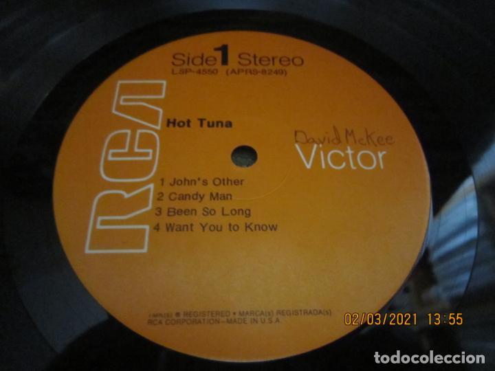 Discos de vinilo: HOT TUNA - HOT TUNA LP - ORIGINAL U.S.A. - RCA RECORDS 1971 GATEFOLD Y FUNDA INT. ORIGINAL - Foto 18 - 245397950