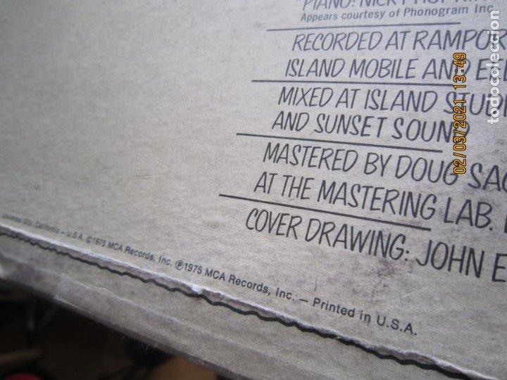 Discos de vinilo: THE WHO - THE WHO BY NUMBERS LP - ORIGINAL U.S.A. - MCA RECORDS 1975 CON FUNDA INT. GENERICA - Foto 3 - 245400370