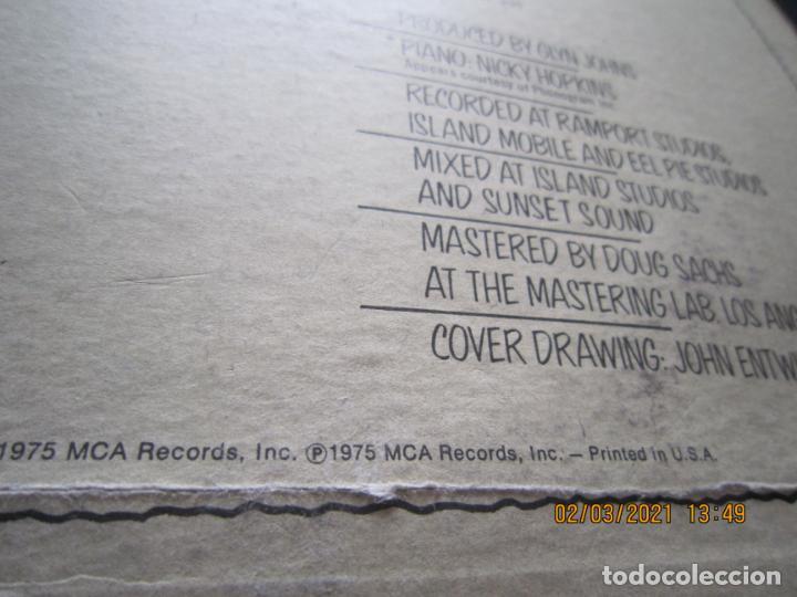 Discos de vinilo: THE WHO - THE WHO BY NUMBERS LP - ORIGINAL U.S.A. - MCA RECORDS 1975 CON FUNDA INT. GENERICA - Foto 4 - 245400370