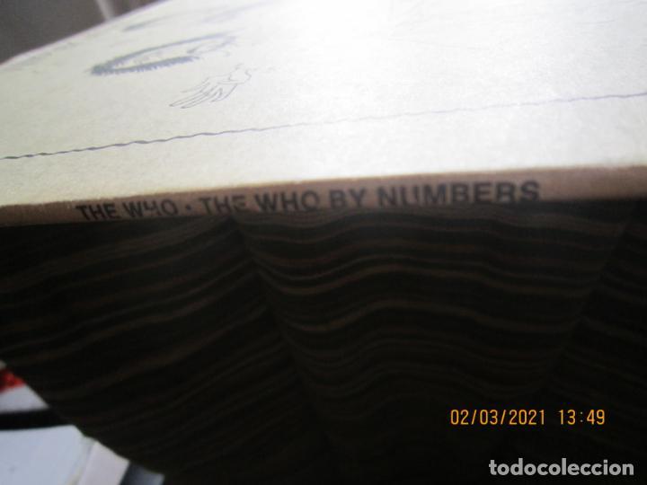 Discos de vinilo: THE WHO - THE WHO BY NUMBERS LP - ORIGINAL U.S.A. - MCA RECORDS 1975 CON FUNDA INT. GENERICA - Foto 6 - 245400370