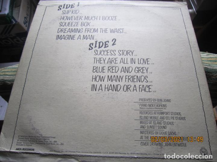 Discos de vinilo: THE WHO - THE WHO BY NUMBERS LP - ORIGINAL U.S.A. - MCA RECORDS 1975 CON FUNDA INT. GENERICA - Foto 9 - 245400370