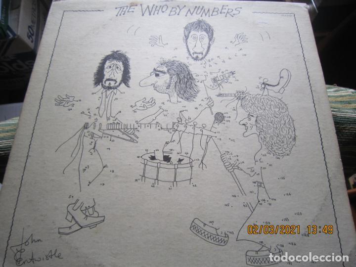 Discos de vinilo: THE WHO - THE WHO BY NUMBERS LP - ORIGINAL U.S.A. - MCA RECORDS 1975 CON FUNDA INT. GENERICA - Foto 10 - 245400370