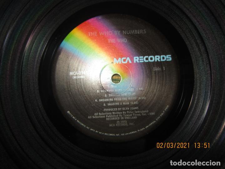 Discos de vinilo: THE WHO - THE WHO BY NUMBERS LP - ORIGINAL U.S.A. - MCA RECORDS 1975 CON FUNDA INT. GENERICA - Foto 12 - 245400370