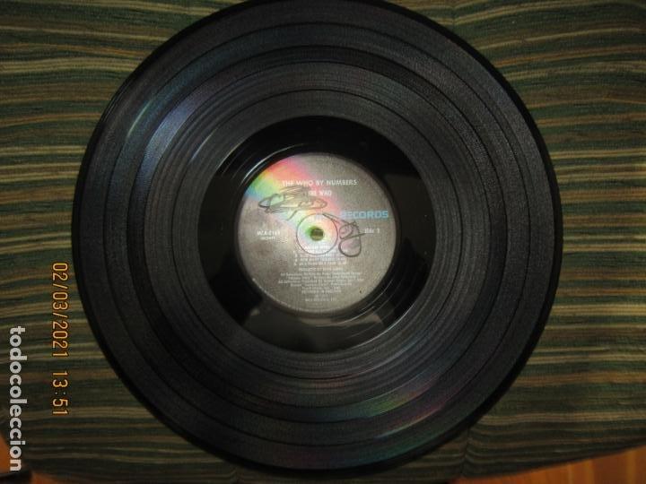 Discos de vinilo: THE WHO - THE WHO BY NUMBERS LP - ORIGINAL U.S.A. - MCA RECORDS 1975 CON FUNDA INT. GENERICA - Foto 14 - 245400370