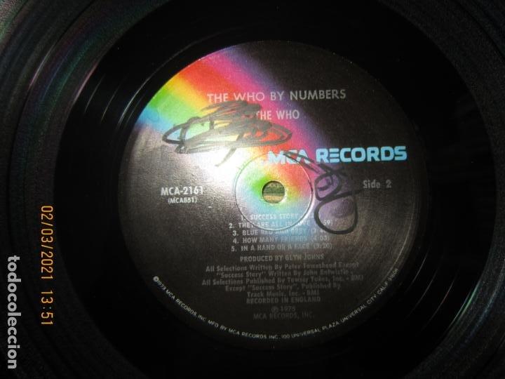 Discos de vinilo: THE WHO - THE WHO BY NUMBERS LP - ORIGINAL U.S.A. - MCA RECORDS 1975 CON FUNDA INT. GENERICA - Foto 15 - 245400370