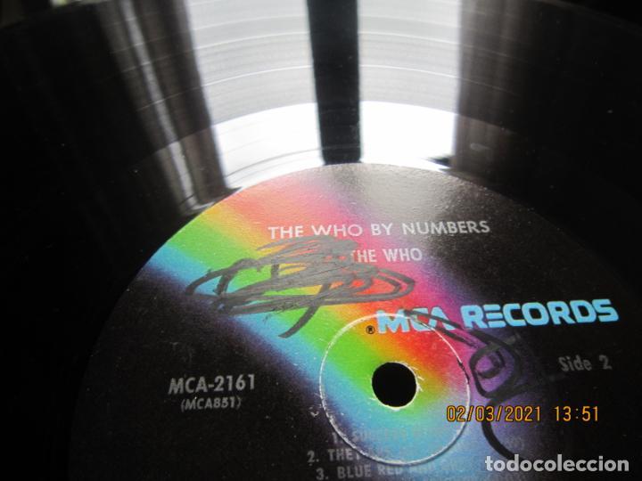 Discos de vinilo: THE WHO - THE WHO BY NUMBERS LP - ORIGINAL U.S.A. - MCA RECORDS 1975 CON FUNDA INT. GENERICA - Foto 18 - 245400370