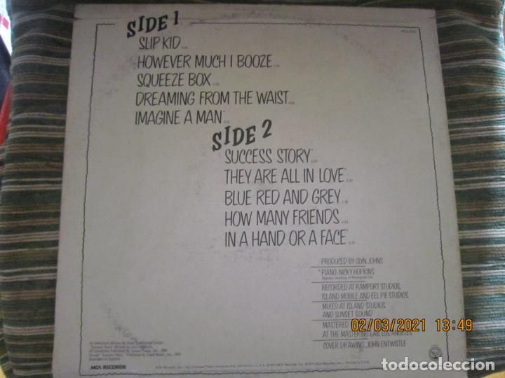 Discos de vinilo: THE WHO - THE WHO BY NUMBERS LP - ORIGINAL U.S.A. - MCA RECORDS 1975 CON FUNDA INT. GENERICA - Foto 19 - 245400370