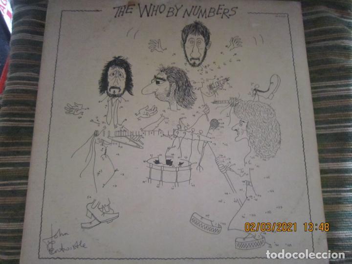 Discos de vinilo: THE WHO - THE WHO BY NUMBERS LP - ORIGINAL U.S.A. - MCA RECORDS 1975 CON FUNDA INT. GENERICA - Foto 20 - 245400370