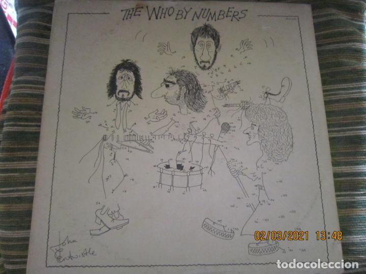THE WHO - THE WHO BY NUMBERS LP - ORIGINAL U.S.A. - MCA RECORDS 1975 CON FUNDA INT. GENERICA (Música - Discos - LP Vinilo - Pop - Rock - Internacional de los 70)