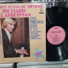 Discos de vinilo: LMV - RICHARD CLAYDERMAN. 16 GRANDES TEMAS DE SIEMPRE. REF. S 60.031. Lote 245403475