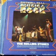 Discos de vinilo: HISTORIA DE LA MUSICA ROCK LOTE LP DEL Nº 1 AL 20 -VER FOTOS: BEATLES, ROLLING, BERRY, HENDRIX BOWIE. Lote 245410125