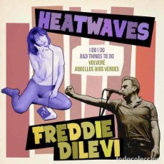 "Discos de vinilo: HEATWAVES / FREDDIE DILEVI SPLIT (7"") . VINILO POWER POP ROCK AND ROLL PUNK. Lote 245411105"