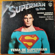 Discos de vinilo: SUPERMAN EL FILM. VINILO BANDA SONORA DE JOHN WILLIAMS -. Lote 245411220