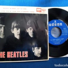 Discos de vinil: BEATLES SINGLE EP EDITADO POR EMI ODEON ESPAÑA AÑOS 60 CONJUNTO MUSICAL COLECCION PRIVADA. Lote 245412515