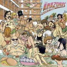 """Discos de vinilo: LOS AMAZONAS AHORA ES CUANDO (7"""") . VINILO GARAGE THE CYNICS PUNK ROCK AND ROLL. Lote 245415995"""