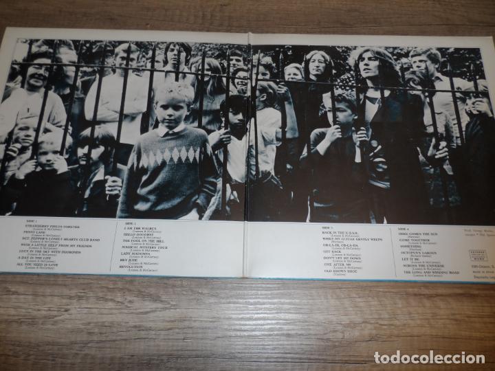 Discos de vinilo: THE BEATLES - 1967-1970 (2LPS) (SPAIN 1973) - Foto 2 - 245416890