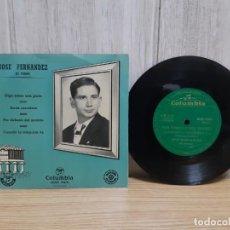 Discos de vinilo: DISCO DE MUSICA ASTURIANA DE JOSE FERNANDEZ EL TORDIN MUY BUEN ESTADO. Lote 245417760