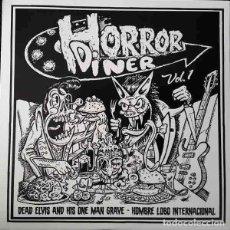 """Discos de vinilo: DEAD ELVIS / HOMBRE LOBO INTERNACIONAL HORROR DINER VOL.1 (7"""") . VINILO ROCK. Lote 245418880"""