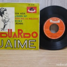 Discos de vinilo: DISCO DE VINILO DE EDUARDO JAIME: LUA AZUL MAS TRES MAS. Lote 245419395