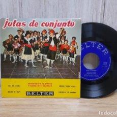 Discos de vinilo: VINILO JOTAS DE CONJUNTO AGRUPACION DE COROS Y DANZAS DE ZARAGOZA. Lote 245419865