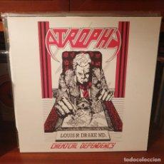 Discos de vinilo: ATROPHY / CHEMICAL... / FLOGA RECORDS 2016. Lote 245421980