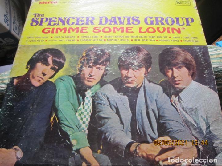 Discos de vinilo: THE SPENCER DAVIS GROUP - GIMME SOME LOVIN LP - ORIGINAL U.S.A. - UNITED ARTISTS 1967 - STEREO - - Foto 11 - 245423650