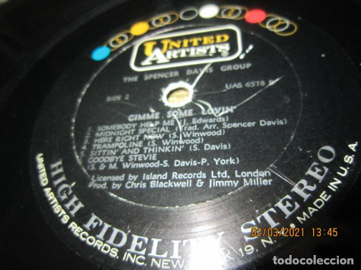 Discos de vinilo: THE SPENCER DAVIS GROUP - GIMME SOME LOVIN LP - ORIGINAL U.S.A. - UNITED ARTISTS 1967 - STEREO - - Foto 17 - 245423650
