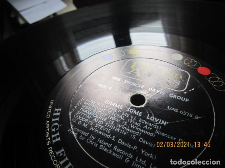 Discos de vinilo: THE SPENCER DAVIS GROUP - GIMME SOME LOVIN LP - ORIGINAL U.S.A. - UNITED ARTISTS 1967 - STEREO - - Foto 18 - 245423650