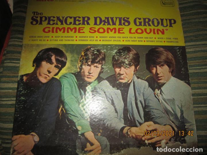 THE SPENCER DAVIS GROUP - GIMME SOME LOVIN LP - ORIGINAL U.S.A. - UNITED ARTISTS 1967 - STEREO - (Música - Discos - LP Vinilo - Pop - Rock Internacional de los 50 y 60)