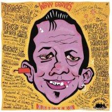 Discos de vinilo: LOS WAVY GRAVIES RUFUS IS BACK IN TOWN (LP) . VINILO GARAGE ROCK AND ROLL FRAT. Lote 245426340