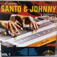 Discos de vinilo: SANTO & JOHNNY - ENCORE VOL. 1 HISPAVOX - 1966 (1960). Lote 245431920