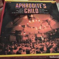 Discos de vinilo: º APHRODITE´S CHILD - PERGOLA RECORDS 1971,INSCRIPCION A BOLI EN CONTRAPORTADA. Lote 245440595