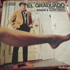 Discos de vinilo: º EL GRADUADO BSO - SIMON & GARFUNKEL - CBS ESPAÑA 1970. Lote 245440855