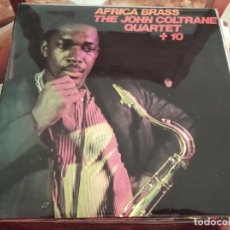 Discos de vinilo: º JOHN COLTRANE QUARTET + 10 - AFRICA BRASS - ABC IMPULSE ESPAÑA 1976. Lote 245441580
