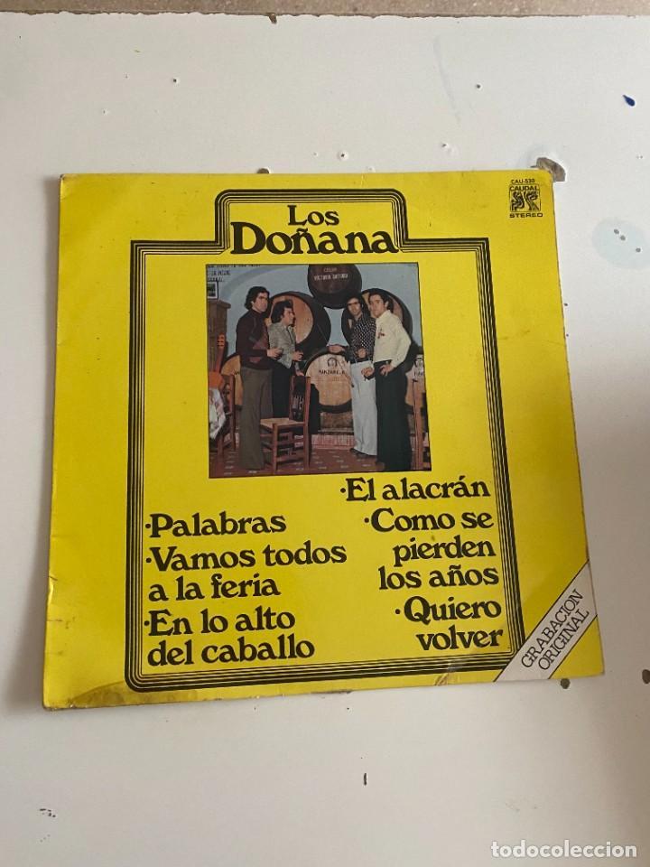 BAL-2 DISCO DE VINILO LOS DOÑANA PALABRAS - VAMOS TODOS A LA FERIA - EN LO ALTO DEL CABALLO (Música - Discos - Singles Vinilo - Otros estilos)