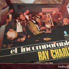 Discos de vinilo: º RAY CHARLES - EL INCOMPARABLE RAY CHARLES - TURQUESA ESPAÑA 1974. Lote 245442730