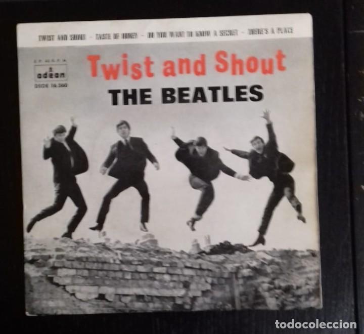 THE BEATLES - TWIST AND SHOUT ED ESPAÑOLA 1963 (Música - Discos de Vinilo - EPs - Pop - Rock Internacional de los 50 y 60)
