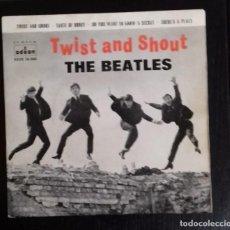 Discos de vinilo: THE BEATLES - TWIST AND SHOUT ED ESPAÑOLA 1963. Lote 245444665