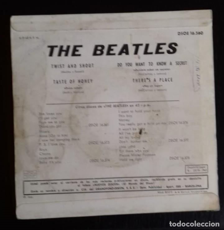 Discos de vinilo: THE BEATLES - TWIST AND SHOUT ED ESPAÑOLA 1963 - Foto 2 - 245444665