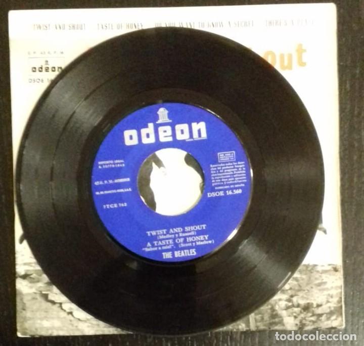 Discos de vinilo: THE BEATLES - TWIST AND SHOUT ED ESPAÑOLA 1963 - Foto 4 - 245444665