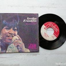 Disques de vinyle: ARETHA FRANKLIN – PIENSA / ME EMOCIONAS SINGLE SPAIN 1968 VINILO NM/PORTADA VG++. Lote 245445210