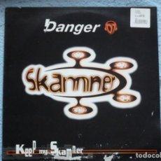 Discos de vinilo: D´ANGER,SKAMNER-TXITXI,KEEP MY SKAMNER EDICION ESPAÑOLA DEL 97. Lote 245448015