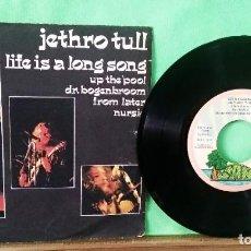 Discos de vinilo: JETHRO TULL. 5 CANCIONES EP. - LIMPIO, TRATADO CON ALCOHOL ISOPROPÍLICO. AZ. Lote 245450135