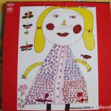 Discos de vinilo: LP - CANCIONES PARA EL NIÑO NUEVO-MUESTRARIO GONG Nº 3 - VARIOS(SPAIN, MOVIEPLAY 1976, PORTADA DOBLE. Lote 245454520