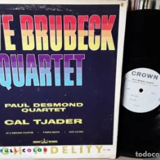 Discos de vinilo: LP VINILO DAVE BRUBECK, PAUL DESMOND, CAL TJADER. Lote 245454565