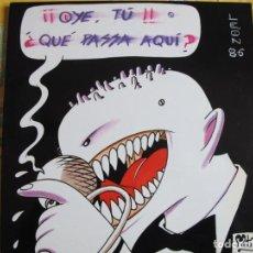 Discos de vinilo: LP - OYE TU ¿QUE PASSA AQUI? LEON 86 - VARIOS (DOBLE DISCO, CASKABEL RECORDS 1986, VER FOTO ADJUNTA). Lote 245458890