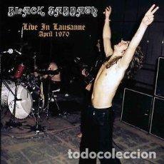 Discos de vinilo: BLACK SABBATH – LIVE IN LAUSANNE APRIL 1970 -LP-. Lote 245459920