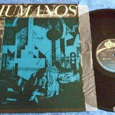 """Discos de vinilo: LOS INHUMANOS SPAIN 12"""" MAXI 1984 ERES UNA FOCA RAP DEL GRAN LECHON + 2 POP COMEDIA EPIC RECORDS VER. Lote 245460645"""