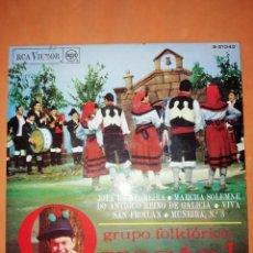 Discos de vinilo: GRUPO FOLKLORICO XESTAL. GAITEROS. RCA RECORDS 1968. Lote 245462205